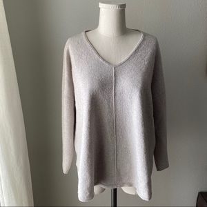 Sweaters - Luisa Cerano Cashmere/Silk Blend V-Neck Sweater